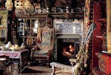 Boho style / Стиль Бохо. В интерьере, в одежде, и в остальном.  Boho style. The interior, clothing, and the rest.