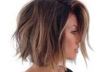 messy balayage bob hairstyle