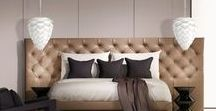Perfect Bedroom Lighting / Here are some of our favorite modern lights to create perfect lighting in your modern bedroom.