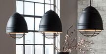 Industrial Modern / Our favorite finds of Industrial Modern Lighting - perfect for your modern space at home, loft-living, or an industrial bar.
