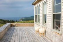 Cottage living / chalet style / by Nathalie Rivard