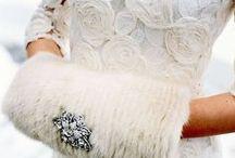 Winter White / Lovely white on white.