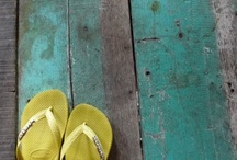 COLORS: Blue & Green shades