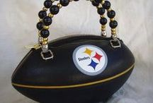 Black & Gold Handbags / by Pittsburgh Steelers