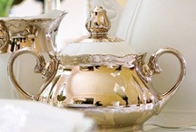 Silver / To add a little shine and create lovely vignettes.