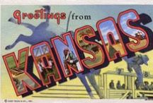 Kansas & K.C., Mo. / Where I'm from. Such fond memories of growing up here and spending part of my adult life in Kansas City.  My roots and part of my heart are here.