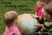 global child {bilingual is cool} / ideas for raising children bilingually and with an awareness of the whole world / by The Fairy and The Frog Blog