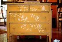 Furniture / Pretty and useful pieces to fill our homes.