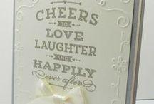 Cards - Wedding / by Cindy Gitto-Wilson