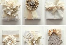 Gift wrapping ideas / by Cindy Gitto-Wilson