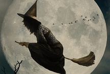 Witches / Everyone deserves the chance to fly :)  Ride 'em high ladies .