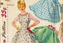 Vintage Fashions / by Susan Elkins