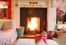 Colorful and Cozy  / Cheerful, warm and inviting :)
