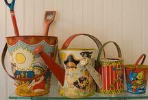 Vintage Treasure / flea markets, antique malls, estate sales, Grandma's attic....enjoy the treasure hunt :)