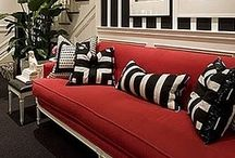 Bold and Beautiful / Color, scale, contrast, pattern and most often  the unexpected to create bold and beautiful.