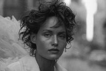 """Peter Lindbergh / """"The real world is in color, so if you use black and white, you take it out of the real world"""""""