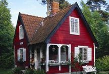 Crimson Cottage / Cute and Cozy and Rosie :)