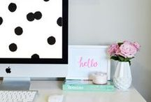 work space chic. / by Krystal Phillips