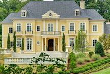 Sunshine Manor / A beautiful sun washed, golden, glowing and stately home.