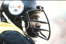 'Mean' Joe Greene / The Steelers will officially retire Joe Greene's Number '75' in a ceremony when the team hosts the Ravens on November 2nd.   Here is a look at some of the top 'Mean' Joe Greene photos.  / by Pittsburgh Steelers