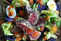 Not Your Average Salad / Big, Interesting, Filling, Delicious Salads for Lunch & Dinner