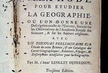 Lenglet Dufresnoy, Nicolas. Methode pour etudier la geographie... [07 XVI-3887-3894] / L'autor va ser una persona d'una gran erudició que va dedicar la seva vida a l'estudi de la història, la geografia, la filosofia i l'alquímia. També va ocupar-se de l'edició de textos i de la crítica literària.  A la seva polifacètica personalitat s'ha d'afegir la seva experiència en el camp de la diplomàcia i la política franceses, en les quals destacà durant el període de la Regència. Aquesta obra sobre la geografia, en 8 volums,  és una tercera edició ...