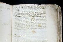 Pujades, Jeroni, 1568-1635. Dietari sise del Doctor Hieronym Pujadas....[07 Ms 975-1] / Malgrat que el nom de l'historiador, cronista i advocat Jeroni Pujades (Barcelona, 1568-Castelló d'Empúries, 1635) ha anat tradicionalment aparellat a la seva Coronica Universal del Principat de Catalunya, la seva col·lecció de Dietaris autògrafs mereix una menció especial. Aquests Dietaris, que Pujades comença l'any 1600, es presenten com un relat minuciós i detallat dels successos més destacats ocorreguts al Principat, especialment a Barcelona, el primer terç del segle XVII.