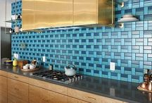 Kitchen & Bar / The Kitchen is the Heart of the Home-- Make it Beautiful and Yours with Spectacular Tile!