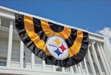 Black & Gold Your Home / Steelers goodies for your home and office. / by Pittsburgh Steelers