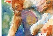 Art & Color Inspiration / Inspiration for #art, #color, / by Cheryl Cope