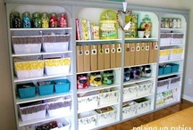 Organization & Storage & Creative Spaces / Good ideas on how to #organize and #store your stuff, #organization, #storage, #studios, #creative, #spaces