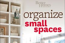 Organizing Small Spaces / by Ellen Ross