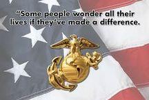 Proud Marine Family / Various Marine Corps things we love!