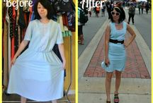 ✂ Refashion ✂ / I am excited to refashion my clothes, turning old clothes into new! / by Gaylene Fountain