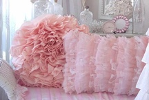 Shabby~Pillows / Love Love Love the Romantic Softness of big FluFFy PiLLows / by Cindy Hart