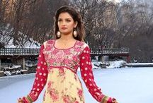 Floral Collection / Floral Collection are beautiful items of clothing that reflect the vibrant diversity of nature and Indian culture. Many different types are available, catering to the needs and desires of shoppers across many backgrounds. / by Utsav Fashion