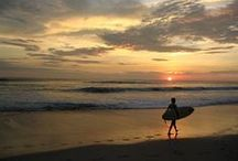 Surf Life in Costa Rica / While staying at beautiful Santa Teresa Beach, take a surf lesson in the excellent rolling waves of Santa Teresa and Mal Pais. / by Hotel Tropico Latino