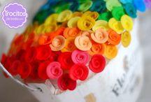 Alfileres para una boda - Wedding pins / Alfileres de boda o de novia hechos en www.trocitosdeboda.com