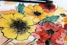 Art Journaling  / My Art Journaling is all about ideas.  I like to look at mix media, collage, altered art - you name it! For me it's all about creative, fun, fantastic journaling!! / by Ginger Wirt