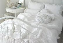 Shabby Bedroom Linens / Soft Soft Soft / by Cindy Hart