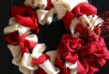 Burlap Wreath / by BurlapFabric.com