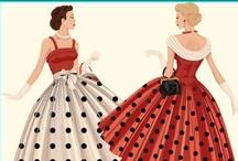 Historic Style | Beautiful 40's and 50's / by Naomi | SewKnitCreate