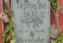 If I had a potting shed...