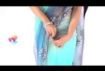How to Wear A Saree / Learn to drape a saree in a few simple steps. Utsav Fashion presents DIY video tutorials on how to wear a saree in different styles with versatility and uniqueness.