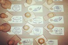 Sellos personalizados para bodas / Sellos personalizados para bodas que realizamos en www.trocitosdeboda.com