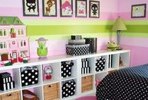 Home - Kids Rooms Girls / by Amy Morrissey