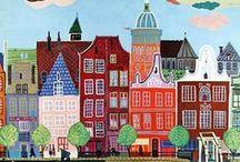 children's book illustration / by Mieke van der Merwe