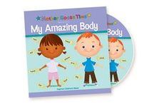 "What's Inside ""My Amazing Body"" / Start the school year off by stretching arms, legs and the mind. Your children will explore their five senses as they make music and create colorful collages. They will sort socks, sew shirts, count brain noodles and learn how to stay healthy all year. - See more at: http://www.mothergoosetime.com/monthly-themes/my-amazing-body/#sthash.UgvLICvk.dpuf"