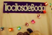 Eventos bonitos / Aquí reunimos fotos de los eventos en los que participa Trocitos de Boda.  Here you can find great pics of special events where Trocitos de Boda participate.