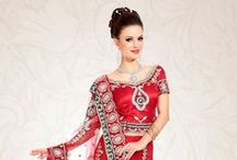 Wedding Lehengas Online / Given the fact that a bridal lehanga attracts a lot of attention, it should be a thing of beauty, uncontested. So, if you came looking to buy bridal lehengas online, Utsav Fashion is the place for you. / by Utsav Fashion
